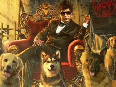 vadivelu suraj lyca productions naai sekar returns first look poster released