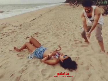 Trending: Amala Paul's latest beach video is an instant hit material