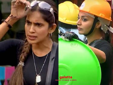 Bigg Boss 4 Tamil New Promo - Samyuktha's argument with Sanam Shetty