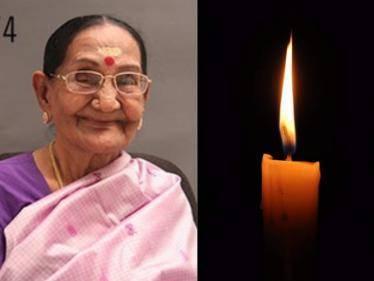veteran tamil actress gemini rajeshwari passed away