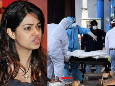 ''First mom and yesterday dad, I am shocked and sad. COVID 19 is killing people'' - Tamil Cinema News