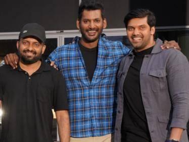 vishal arya anand shankar enemy movie shooting completed