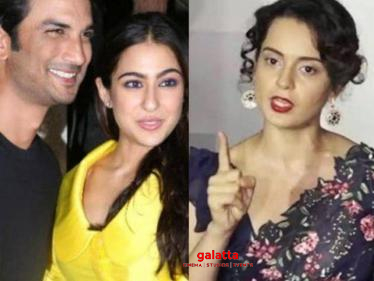 ''Sushant Singh and Sara Ali Khan's affair, they were even sharing a room'' - Kangana Ranaut