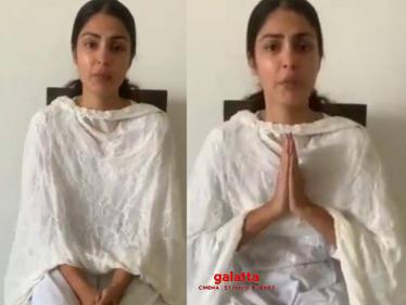 Sushant Singh Rajput's girlfriend Rhea Chakraborty's latest emotional video!-