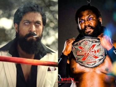 US wrestler Willie Mack's statement about Yash's KGF: Chapter 2 takes social media by storm - Kannada Movies News