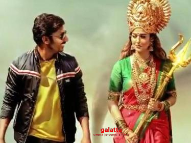 Nayanthara's Mookuthi Amman goes for a direct OTT release | Grand Diwali release