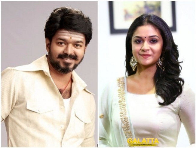 Thalapathy 62 new plan for vijay and keerthy suresh - Tamil Movie Cinema News