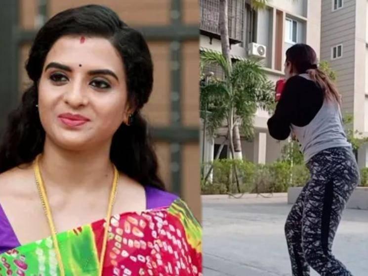 விஜய் டிவி சீரியலில் ரீ என்ட்ரி தரும் பிரபல சீரியல் நடிகை ! - Latest Tamil Cinema News
