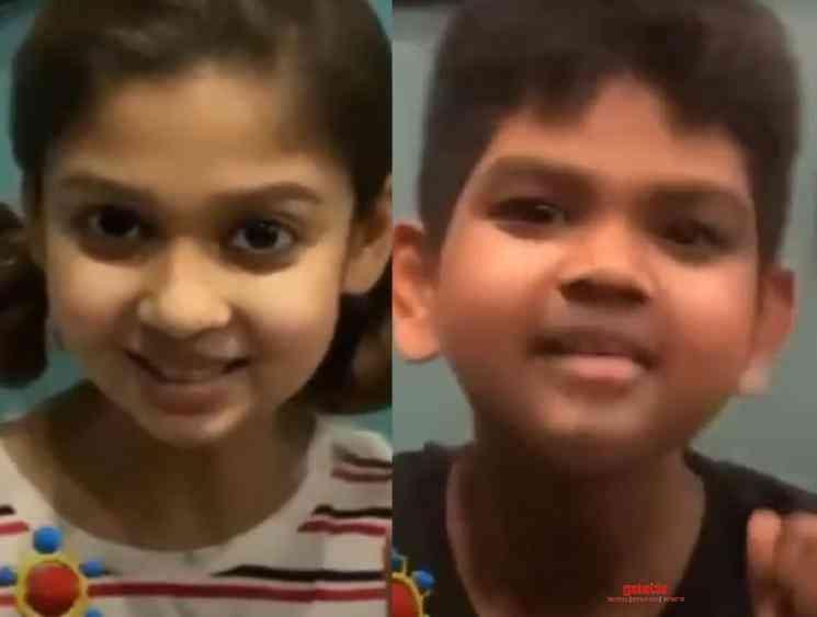 Vignesh Shivan posts new cute video with Nayanthara - Tamil Movie Cinema News