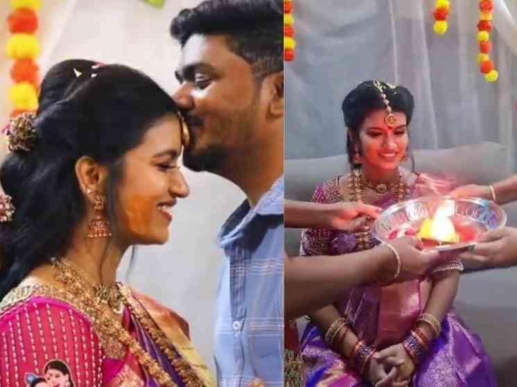 விஜய் டிவி நடிகை வீட்டில் விஷேஷம் ! ட்ரெண்ட் அடிக்கும் வீடியோ - Tamil Movies News