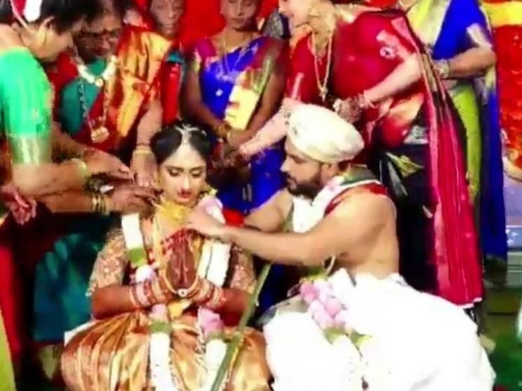 கோலாகலமாக நடைபெற்ற பிரபல சீரியல் நடிகையின் திருமணம் ! - Latest Tamil Cinema News