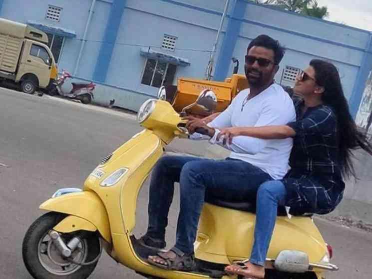 இராவண கோட்டம் படப்பிடிப்பு தளத்தில் இருந்து வெளியான புகைப்படம் ! - Latest Tamil Cinema News