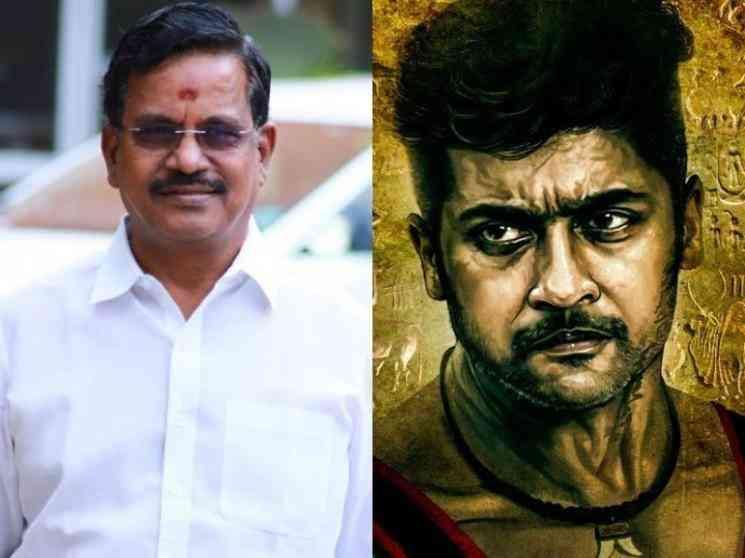 வாடிவாசல் திரைப்படம் குறித்து விளக்கம் தெரிவித்த தயாரிப்பாளர் தாணு !  - Latest Tamil Cinema News