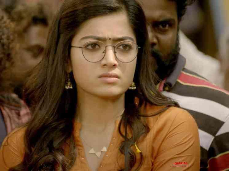 Dhruva Sarja Rashmika Mandanna Karabuu Telugu Video Song Pogaru - Tamil Movie Cinema News