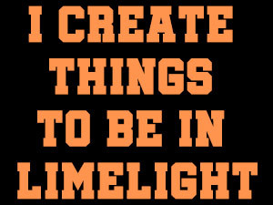 Do you like to be in limelight-0