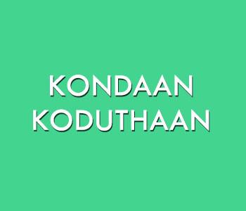 Kadaram Kondan