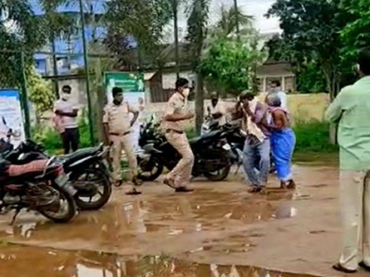 Andhra Pradesh cop kicks and slaps Dalit complainant, suspension orders issued