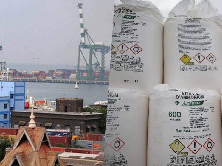 Chennai warehouse has nearly 700 tonnes of ammonium nitrate, customs officials say