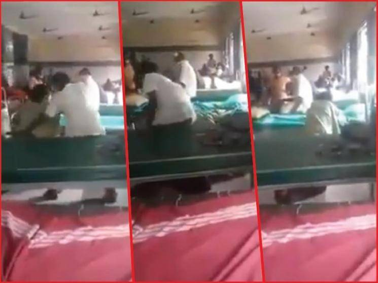 Tamil Nadu hospital employee suspended after dragging patient out of wheelchair | viral video