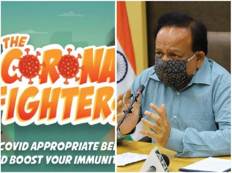 Health Minister Dr Harsh Vardhan launches interactive COVID-19 video game