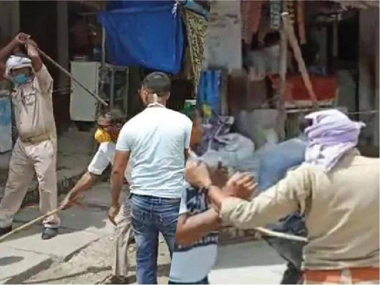 Uttar Pradesh official thrashes men in masks during checking drive, CM issues suspension orders