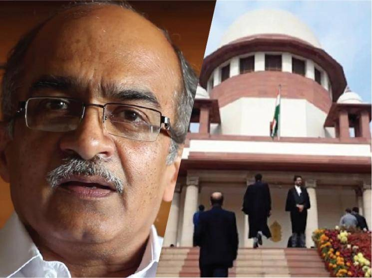 Contempt case: Supreme Court fines Prashant Bhushan Re 1, Else 3 months jail