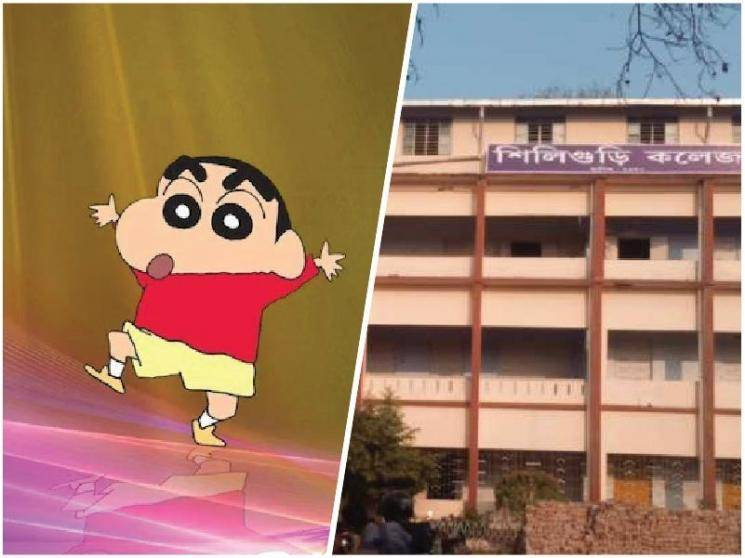 Cartoon character Shinchan tops Bengal college BSc honours list, Police case filed