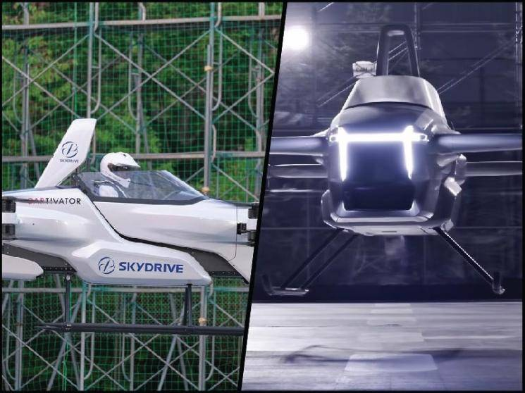 Japanese company SkyDrive successfully completes first test flight of flying car