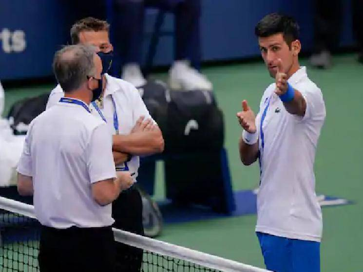 Novak Djokovic exits US Open after being disqualified for hitting official with ball!