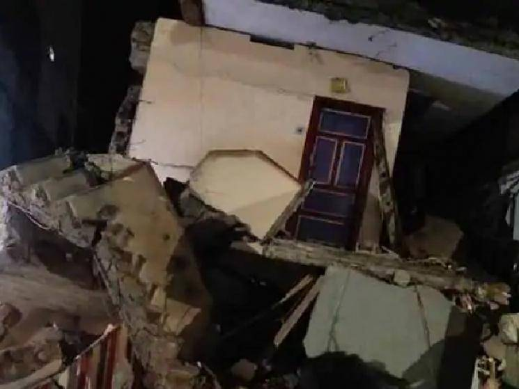 2 dead as building collapses in Coimbatore following heavy rains!