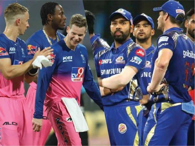 Mumbai Indians drub Rajasthan Royals by 57 runs to go to the top of the table!