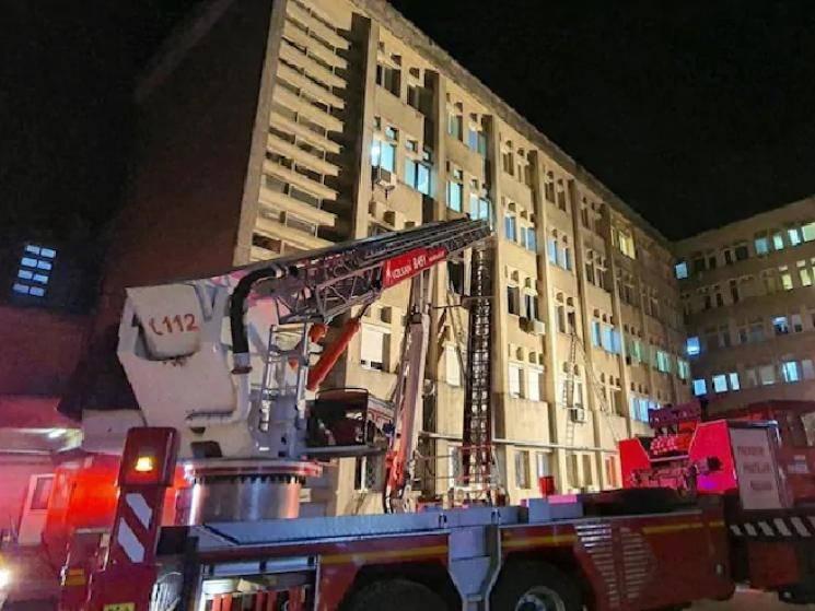 Fire in Romanian COVID-19 hospital kills 10 people!