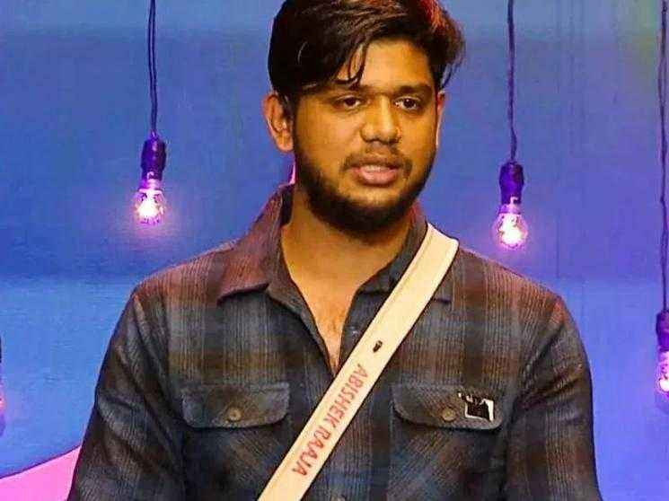 Abishek Raaja's first BREAKING Statement after getting evicted from Bigg Boss 5 Tamil!