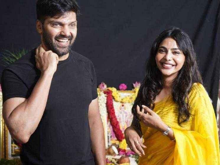 Arya and Shakti Soundar Rajan team up for a new film after Teddy - Aishwarya Lekshmi onboard as the female lead!