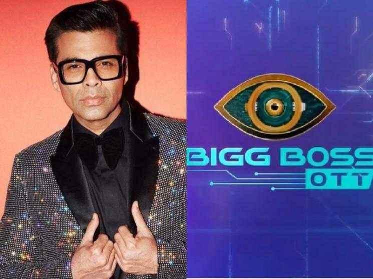 Blockbuster director Karan Johar officially announced as Bigg Boss OTT's host - Check out!