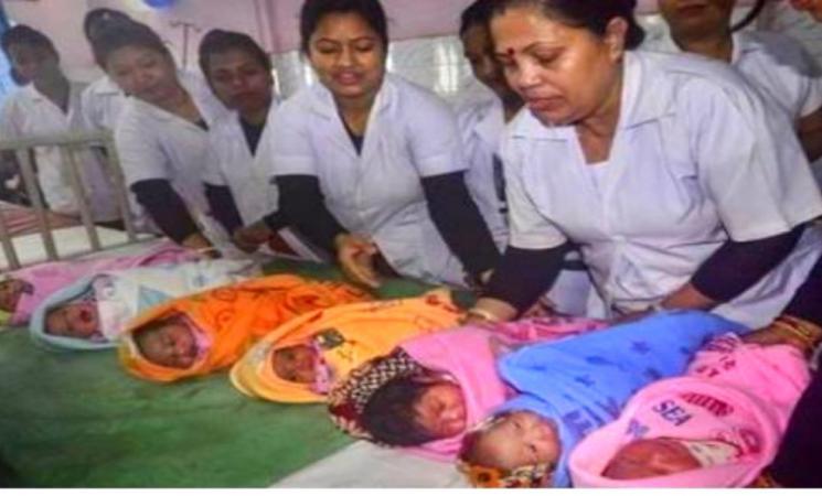 2021 புத்தாண்டு அன்று இந்தியாவில் 60 ஆயிரம் குழந்தைகள் பிறப்பு! சீனாவை விட இந்தியாவில் இருமடங்கு உயர்வு..