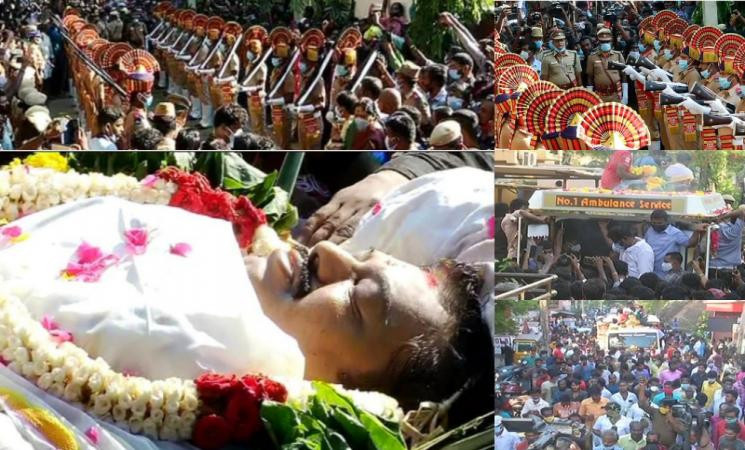 78 குண்டுகள் முழங்க நடிகர் விவேக் உடல் தகனம்!