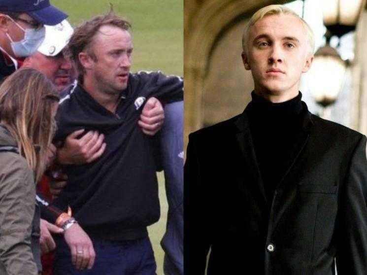Harry Potter actor Tom Felton collapses during celebrity golf match - VIRAL PHOTOS!