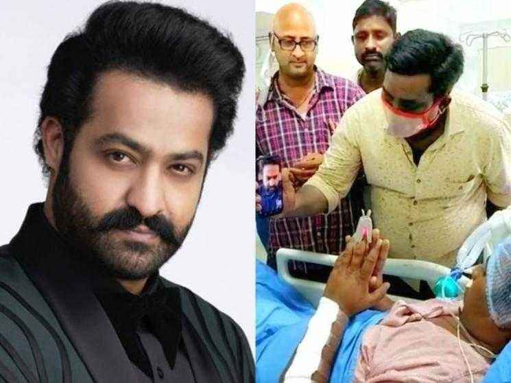 Jr. NTR's fan gets injured in an accident, RRR actor video calls and arranges for medical treatment