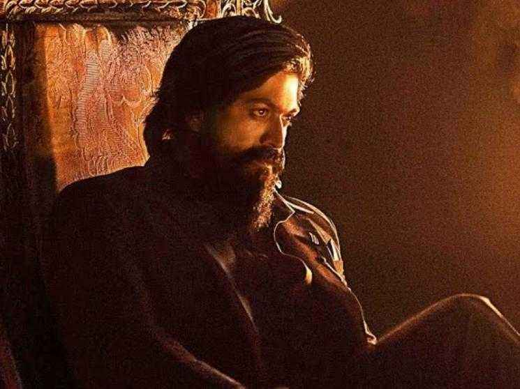 KGF: Chapter 2 new special poster for Sanjay Dutt's birthday | Yash | Prashanth Neel