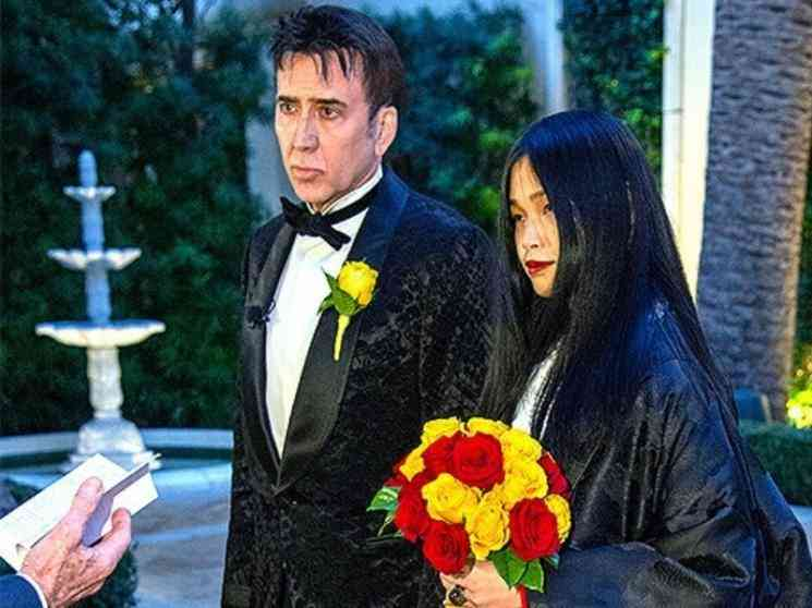 Hollywood actor Nicolas Cage ties the knot for the fifth time, marries girlfriend Riko Shibata