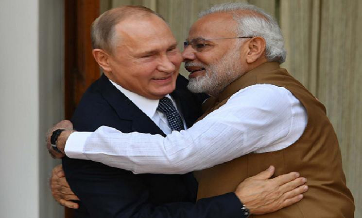 Vladimir Putin wishes Indian President & PM Modi dashes Chinese hopes!