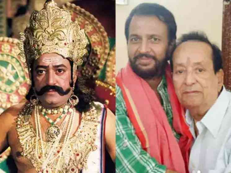 Ramayan TV serial star Sunil Lahri quashes rumors of Raavan actor Arvind Trivedis death