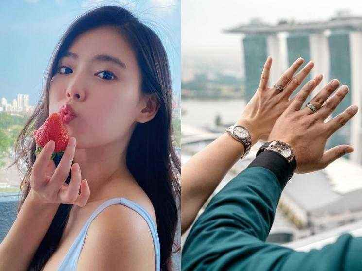 Singaporean actress Kimberly Chia reveals she married in secret and is expecting a baby - wishes pour in!
