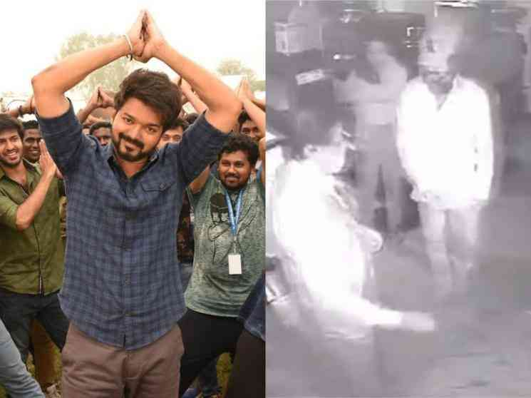 Thalapathy Vijay watches Master FDFS in Devi Theatre with fans - Video goes viral!