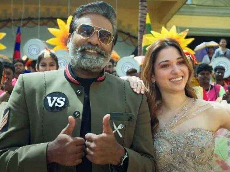 Vijay Sethupathi as host of Master Chef Tamil - Sun TV announces Premiere Date | Tamannaah