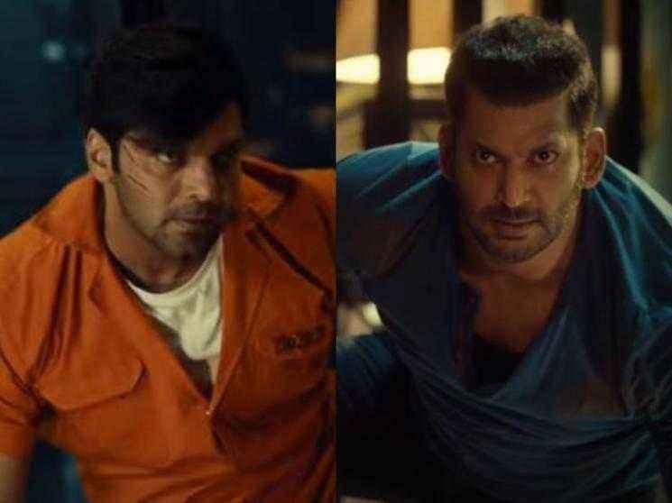 Vishal and Arya's action-packed ENEMY teaser | Anand Shankar | Mirnalini Ravi