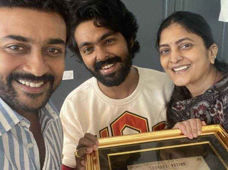 WOW: The blockbuster Soorarai Pottru to come together for one more film? Pic goes viral! Check Out!