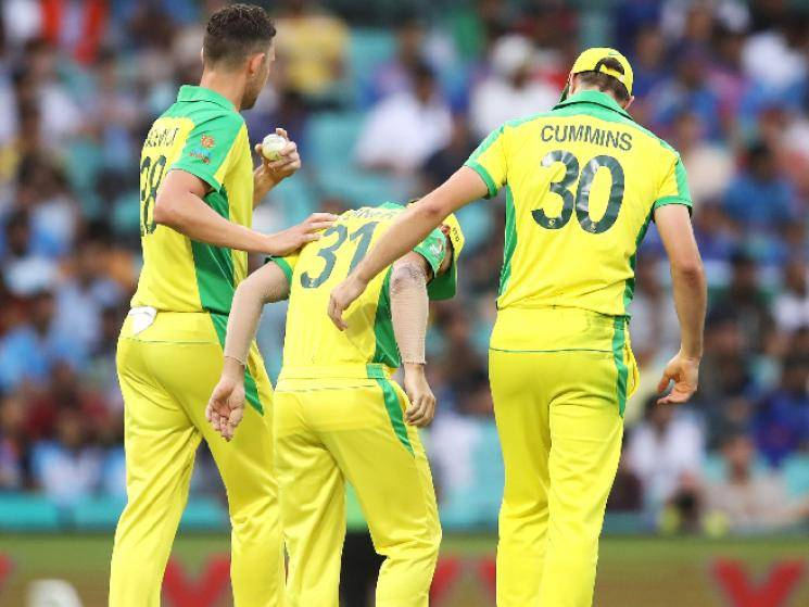 Australia lose 2 key players for rest of tournament against India!