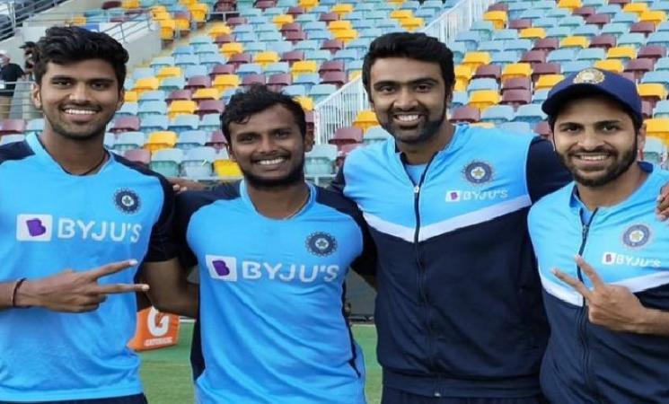 Royal felicitation for Indian cricketer Washington Sundar!
